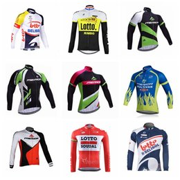 Discount merida cycle tops - LOTTO MERIDA team Cycling long Sleeves jersey new hot outdoor camisa de ciclismo Breathable Polyester mtb bike sportwear