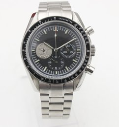 men limited watches chronograph 2019 - limited edition Men quartz Chronograph watch moon master Master sapphire Original buckle stainless steel high quality ch