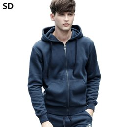 $enCountryForm.capitalKeyWord Canada - 2018 New hoodie Men Spring Autumn Fashion Hoodies Male Large Size Solid Warm Fleece Coat Men Brand Hoodies Sweatshirts mens 986