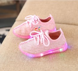 korean model girls Australia - Spring models children's shoes 2018 new Korean sports shoes boys and girls coconut shoes casual running list