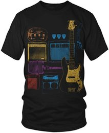 Latest Speakers UK - 2018 Latest T Shirt Fashion Casual Rock Band Tool Box Guitars Amp Speakers Men's T-Shirt Men Short O-Neck Tee Shirts