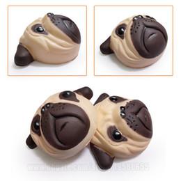 Shar Pei Squishy Sharpei Squishies Dog Face Slow Rising Simulation Soft  Animal Toy DHL Free Shipping