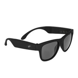 Venta al por mayor de G1 Auriculares inalámbricos de conducción ósea Gafas polarizadas Gafas de sol Auriculares Bluetooth Auriculares estéreo SmartTouch con micrófono