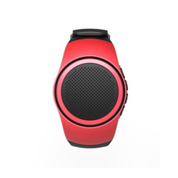 watch player 2018 - sport watch wireless speaker Mini bluetooth Speaker Cute Shape Unique Design Loudspeaker For Phone sport Travel cheap wa