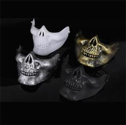 $enCountryForm.capitalKeyWord NZ - 100PCS Hot Skeleton Mask Half Face Actual Combat Warrior Face Masks Halloween scary mask Worldwide