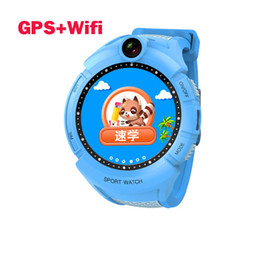 Smartwatch Gps Wifi Camera Australia - Kids Smart Watches with Camera GPS WIFI Location Child smartwatch SOS Anti-Lost Monitor Tracker baby watch