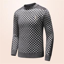 Venta al por mayor de 2018 de alta calidad milla wile polo marca hombres suéter de punto jersey de algodón jersey jersey suéter Envío Gratis