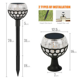 $enCountryForm.capitalKeyWord NZ - New Solar Ball Lawn Light 96led High Quality Street Light Outdoor Solar Garden Decorative Solar Landscape Light