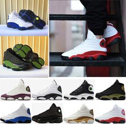 Com caixa de alta qualidade 13 13 s sapatilhas de basquete tênis Altitude Trigo criado azul royal Chicago mens Sports formadores tamanho EUA 8-13
