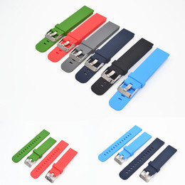 22mm silicone strap 2019 - Quick Install Watch Strap 18mm 20mm 22mm for Motorola 2 Gen 46mm Samsung Gear2 Silicone and Bracelet cheap 22mm silicone