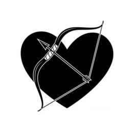 heart products NZ - Love Heart And Love God Arrow Car Sticker Vinyl Auto Parts Bag Body Decal Product Decoration User Cupid