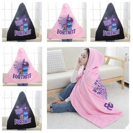 Free plush horse online shopping - Fortnite Blankets Horse Girls Cloak Sherpa Hooded Wraps Blanket Women Adult Winter Plush Cape Shawl Christmas Gift CM