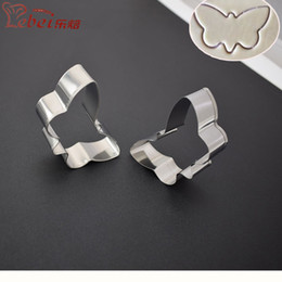 $enCountryForm.capitalKeyWord NZ - LeBei 7*2*3.4cm Creative Lovely Cartoon Butterfly Decoration Biscuit Stainless Steel Moulds Cake Pastry Bakeware DIY Metal Molds