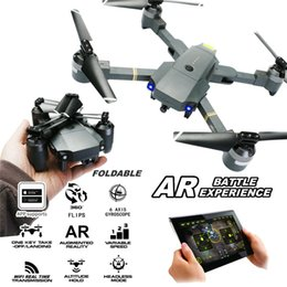 Drones Wifi Camera Australia - Foldable RC Drone XT-1 Quadcopter WIFI FPV Altitude Hold Gravity Sensor AR Game Mode 6-Axis 2.4Ghz Selfie Drone with 1080P Camera Live Video