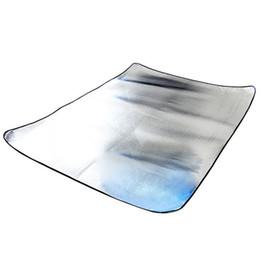 SZ-LGFM-150 x 200CM Waterproof Outdoor Picnic Mat Two-sided Silver Beach C&ing Tent Travel Mattress Sleeping Pad  sc 1 st  DHgate.com & Discount Under Tent Pads | 2018 Under Tent Pads on Sale at DHgate.com