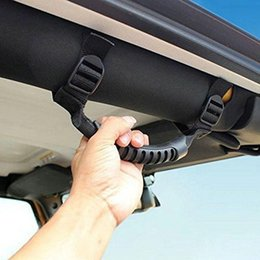 Safety Handles NZ - Car Grab Handles Grip Handle For Jeep SUV Roll Bar for Off Road Enthusiasts