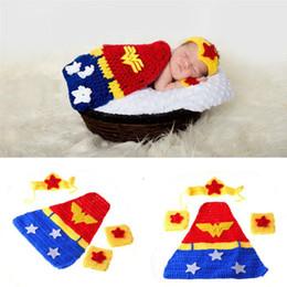 $enCountryForm.capitalKeyWord Australia - Baby Photography Props Newborn Baby Girl Boy Crochet Knit Costume Photo Photography Prop Hats Pants Outfits