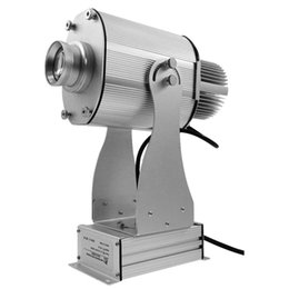 $enCountryForm.capitalKeyWord Australia - 20W LED Gobo Projector Indoor Rotary Image Silver Aluminum Alloy 1800lm Company Logo Custom Image LED Custom Image Projector Light