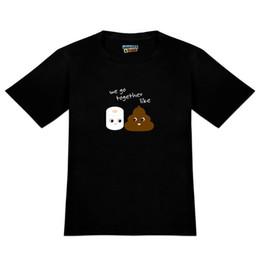 3eedb40d Toilet Paper and Poop Emoji Friends Men's Novelty T-Shirt Summer Short  Sleeves Cotton Print Tee Men Short Sleeve Clothing