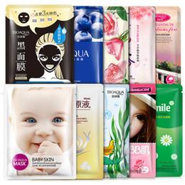NourishiNg mask online shopping - BIOAQUA Face Mask Facial Skin Care Blackhead Remover Deep Moisturizing Nourish Oil Control Essence Korean Mask
