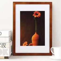 Marco de fotos de América Marco de imagen de Color Muro Marcos de Pared Decoración Del Hogar decoración de la pared 6x8 pulgadas en venta