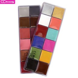 Painting Faces UK - CCbeauty 2018 Hot Style Professional Face Paint Oil 12 Colors Flash Painting Art Party Fancy Make Up For Fancy Dress Halloween