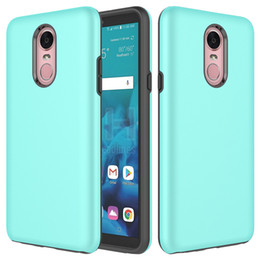 wrap for phone 2019 - For LG stylo 4 MetroPcs Hybrid Armor case tpu+pc 2 in 1 Phone case cover wrapped Case For LG Aristo 2 Metropcs B
