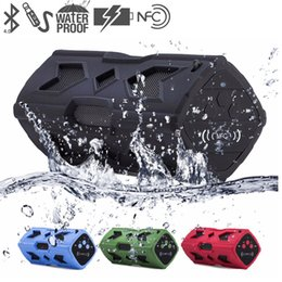 $enCountryForm.capitalKeyWord NZ - New PT-390 Portable Outdoor Speaker NFC Wireless Bluetooth Speaker Waterproof Power Bank With Microphone For Smartphone Tablet PC