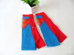 Couple football online shopping - New big kids superhero socks Wonder Knee High Crew With Cape Women Men Couple Cotton Stockings mens football socks DHL shipping E783