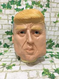 $enCountryForm.capitalKeyWord Australia - Hot Masquerade masks USA President Candidate Mr Trump Latex Mask Latex Face Mask Billionaire Presidential Donald Trump Latex Mask DHL ship