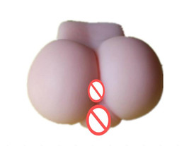 Discount masturbating products - wholesale Male masturbate toy,masturbation tool 100% silicone artificial vagina pussy big Ass , adult silicone sex doll,