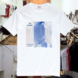 1f4609ba7 The Smiths Hand In Glove Rock Music Band CD T Shirt Unisex Print T-Shirt  Summer Casual Top Tee Round Neck Men Plus Size