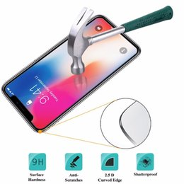 $enCountryForm.capitalKeyWord NZ - 9H Premium Tempered Glass For iPhone X Ten 10 HD Screen Protecter Film For iPhone 6 6S 7 8 Plus 5 5S 5C SE 4 4STempered Glass Screen Protect