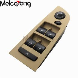 switch panels NZ - Beige or Black 61319217331 Panel Power Window Switch Console left For BMW E90 318i 320i 325i 335i