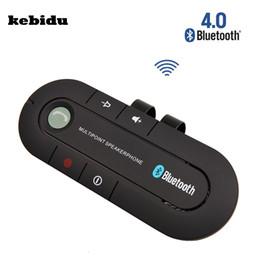 $enCountryForm.capitalKeyWord Australia - kebidu Bluetooth 4.1 Wireless Handsfree Car Bluetooth Kit Speaker Speakerphone Universal Car Kit for Any