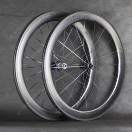 Special Brake Surface Dimple Carbon Wheels 58mm Clincher Road Bike Carbon Wheel 700C Road Bike from carbon fiber fixed gear bike wheel manufacturers