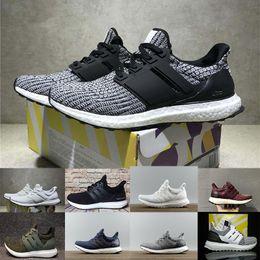 1716b645334c0 Ultraboost 3.0 4.0 Running Shoes Uncaged 3.0 III Primeknit White Black Men  Women Athletic Shoes Size 36-47 wholesale