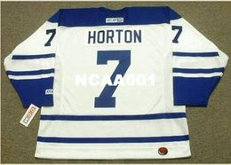 $enCountryForm.capitalKeyWord NZ - Mens #7 TIM HORTON Toronto Maple Leafs 1963 CCM Retro Away Vintage Hockey Jersey or custom any name or number retro Jersey