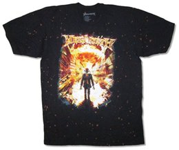$enCountryForm.capitalKeyWord Canada - Megadeth Explosion Bleach Dye Black T Shirt New Official Dave Mustaine top free shipping t-shirt funny 100% Cotton t shirt