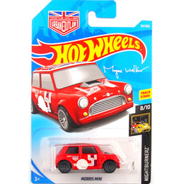 Car Shipping NZ - Free shipping Hot wheels Red morris mini Car Model Toy 311