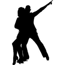 $enCountryForm.capitalKeyWord UK - Disco dancer man and woman silhouette car sticker vinyl car wrap car decal dance