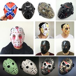 Full Face Hockey Mask Australia - Archaistic Jason Mask Full Face Antique Killer Mask Jason vs Friday The 13th Prop Horror Hockey Halloween Costume Cosplay Masquerade Masks