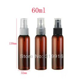 $enCountryForm.capitalKeyWord Canada - 60ml brown empty sprayer PET bottles,60cc refillable setting spray plastic container PET,2 oz deodorant plastic spray bottles