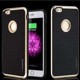 Galaxy Note Protectors Canada - Armor Case For iphone x iphone 8 plus For Samsung Galaxy Note 8 MOTOMO 3 in 1 Brushed Hybrid Dual Layer Protector Cover