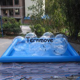 Inflatable Pool Water Walking Balls Australia - giant inflatable water pool,inflatable pools rental,human hamster water walking balls pools,large inflatable adult swimming pool