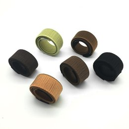 China Hair Tie Band DIY Tool Hair Synthetic Wig Donuts Bud Head Band Ball French Twist French Bun Maker Sweet Braiders cheap bud band suppliers