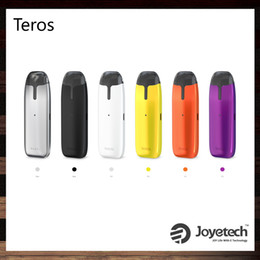 Chinese  Joyetech Teros Pod Kit With 2ml Refillable Cartridge 480mAh Built-in Battery Innovative ECO Tech Color Changes AIO Kit 100% Original manufacturers
