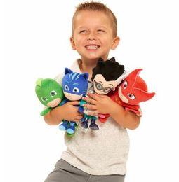 Toy boy movie online shopping - PJ Styles Masking Cartoon Hero Cat Boy Gekko Owlette Movie Plush Dolls Stuffed Toys cm Best Gift For Children KKA5012