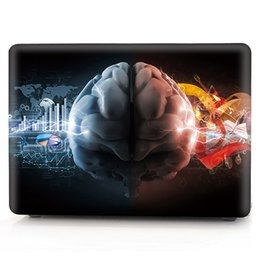 apple laptop shell case NZ - Brain-8 Oil painting Case for Apple Macbook Air 11 13 Pro Retina 12 13 15 inch Touch Bar 13 15 Laptop Cover Shell