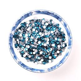 $enCountryForm.capitalKeyWord UK - Top Blue Zircon 1440 Pieces ss12 Non Hot-fix Rhinestones Glass Stones Crystal Flat Back Rhinestones Iron On For Wedding Dress Safe Packaging